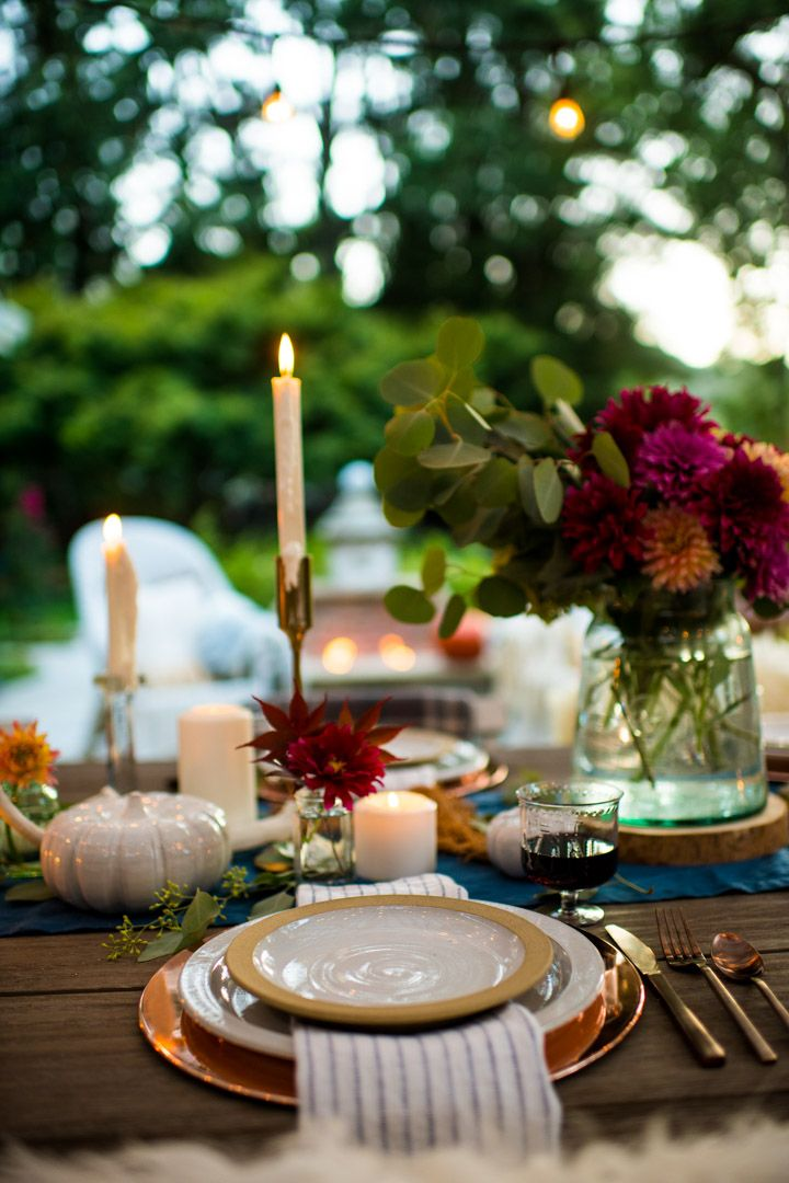 Outdoor Fall Tablescape An Autumn Harvest Table Fall Table Centerpieces Fall Table Settings Fall Table