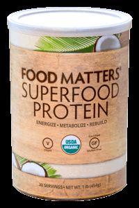 Food Matters Superfood Protein - Hemp Seeds, Coconut Powder, Chia Seeds, Mesquite & Laucuma