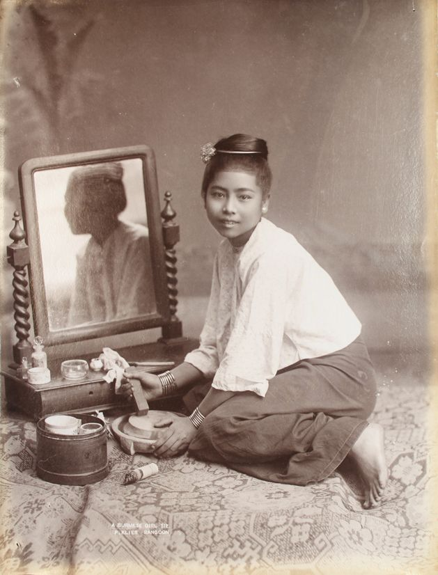 A Burmese Girl by Philip Adolphe Klier