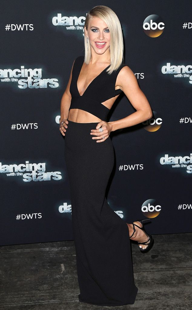 Julianne Hough from The Big Picture: Today's Hot Pics  The professional dancer is sexier than ever at a Dancing With the Stars taping.