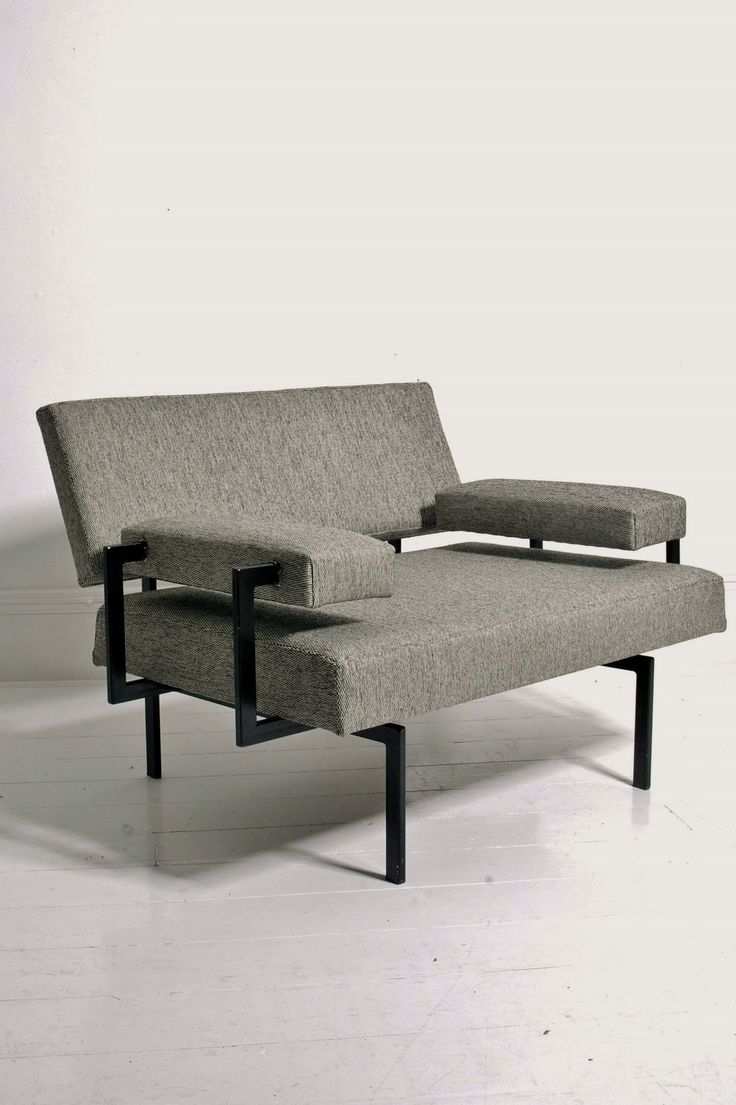 Cees Braakman U+N series armchair for Pastoe, Netherlands 1950s. From Béton Brut, London www.betonbrut.co.uk