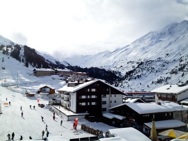 View from Hotel Edelweiss & Gurgl, Obergurgl, Austria