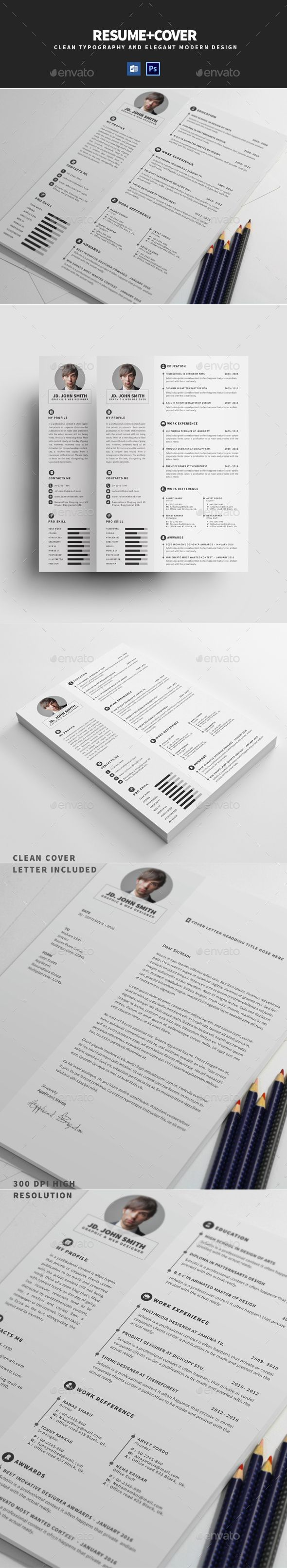 Resume 237 best CV images on Pinterest