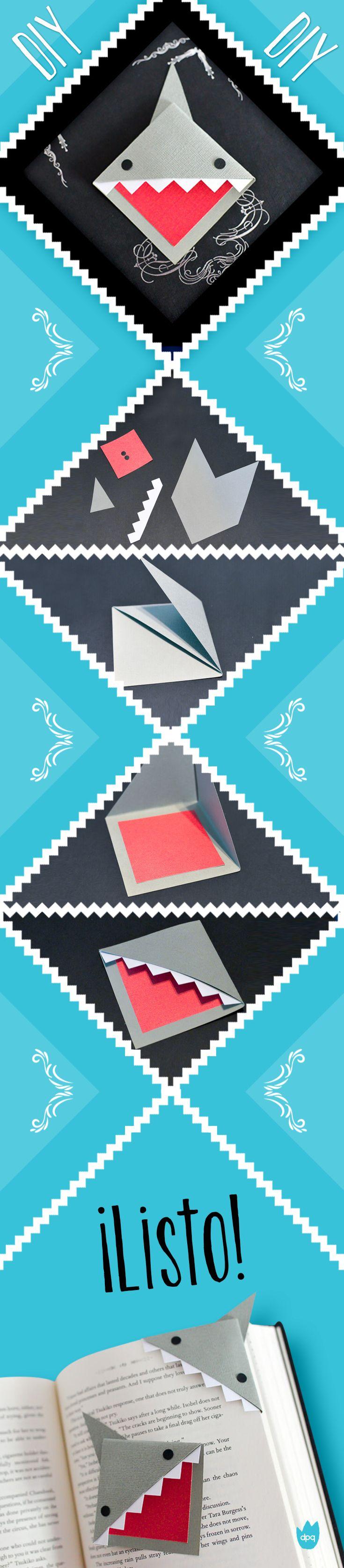 ¡Marca las páginas de tus libros con estilo!   Es super sencillo, solo debes seguir las instrucciones y listo.   ¡Etiquétanos cuando lo realices!   #DePequesVE  #DIY #Libros  #Manualidades