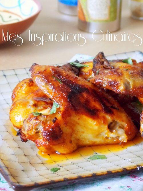 Les 25 meilleures id es de la cat gorie ailes de poulet au - Cuisiner poulet au four ...