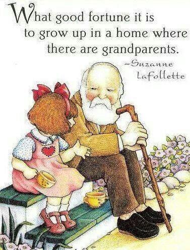 Grandparents are wonderful