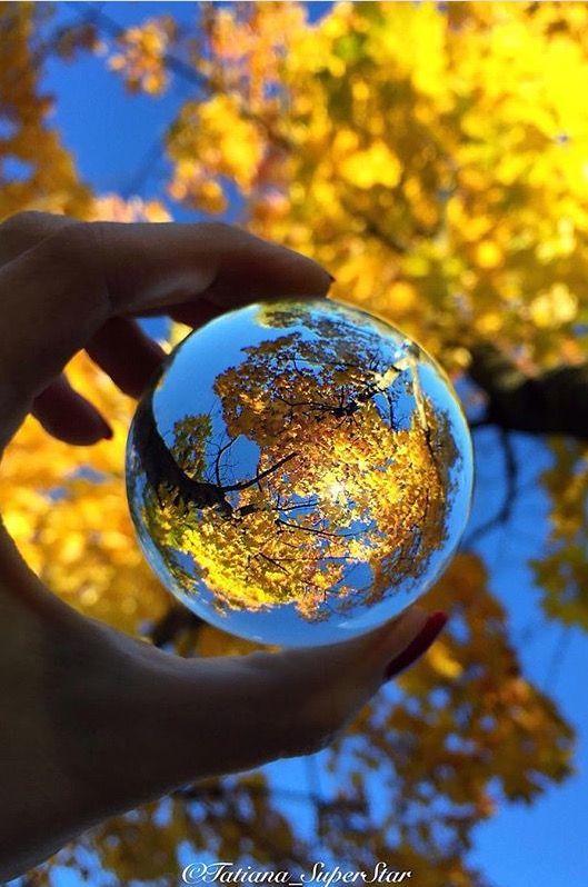 Glass Bubble Reflection