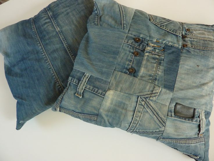 Oude spijkerbroeken hergebruiken!