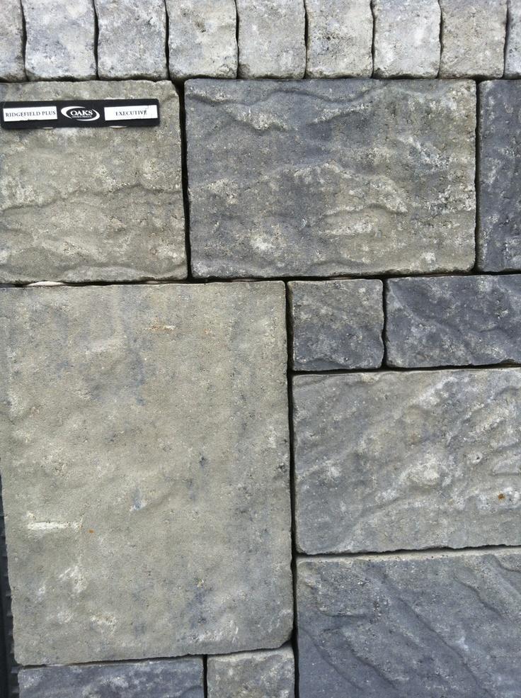 Oaks Concrete Products - Ridgefield paver - Executive colour blen