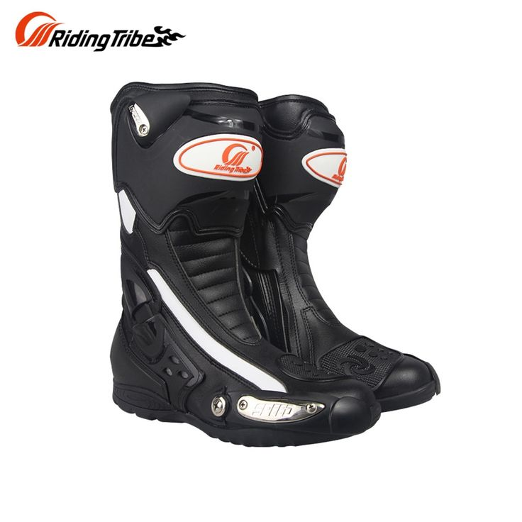 96.90$  Buy here - http://aliysu.worldwells.pw/go.php?t=32729868099 - Riding Tribe PRO-BIKER  Men's Motorcycle Riding Boots Outdoor Sports Racing Boots Mid-Calf Motorcycle short Boots 96.90$
