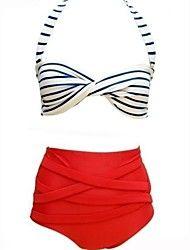 Foclassy ™ γυναίκες λωρίδα υψηλής μέσης Bikini Se... – EUR € 14.99