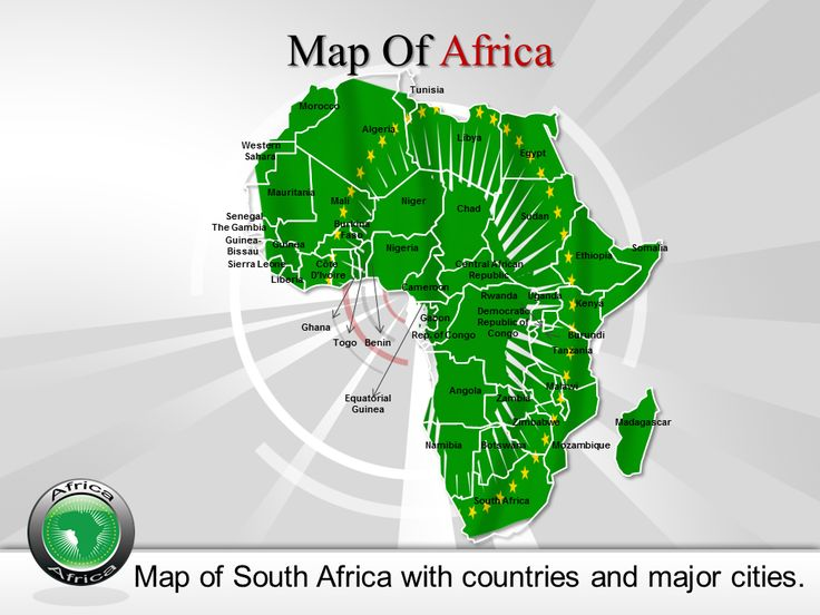 25 best creative powerpoint maps online images on pinterest now you can present your presentation with this fully editable africa map powerpoint template and our toneelgroepblik Images