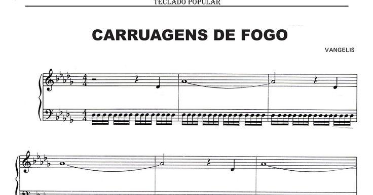 Carruagens de Fogo - Piano/Teclado