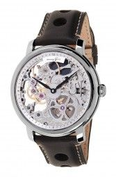 Hermann Jäckle Pforzheim Skelett Armbanduhr mit Handaufzug - Made in Germany - Saphirglas
