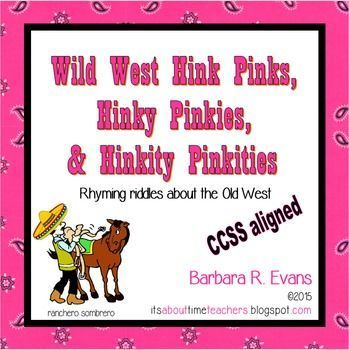 Your class of buckaroos will get a kick out of horsing around with these fun word riddles. But all the while, they will be using critical thinking and H.O.T.S. Learning disguised as fun! $