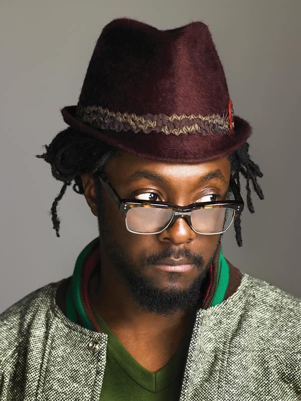 Will.I.Am: Hip Hop Glasses  #TheLook