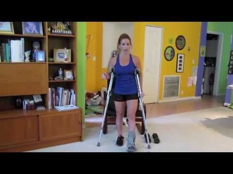 FOOTLESS Workout - 1 A routine to consider while I recover? I'll have to modify a few things at first, but I can definitely do most of that...