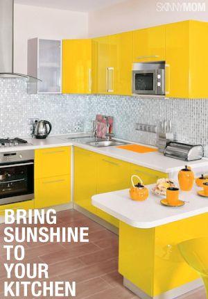 Brighten Up Your Kitchen Yellow Kitchen Accessorieskitchen