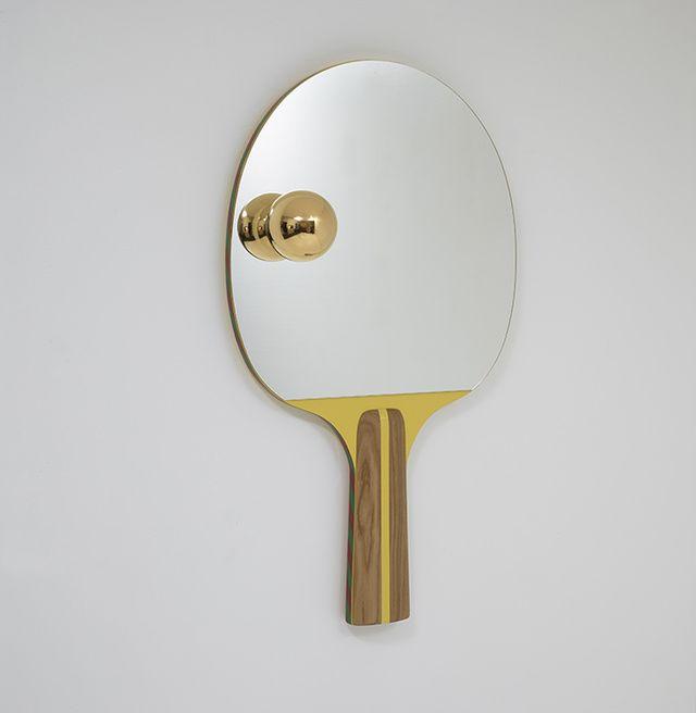 Miroir Racket, collection Game on, Jaime Hayon (Galerie Kreo)