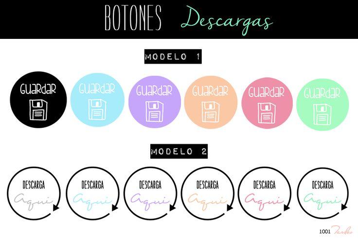 Botones Descargas Gratis http://1001tardes.blogspot.com.es/2014/10/botones-descargas-i.html