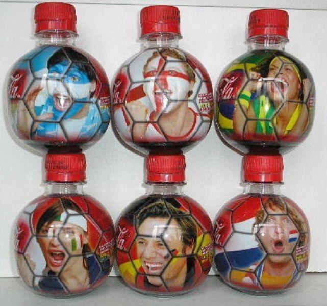 Coca Cola bottles GERMANY MUNDIAL 2006 WORLD CUP FIFA MCDONALD MINI BALL SET   eBay
