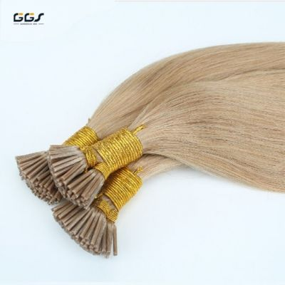 I Tip Hair Extensions #60 Platinum Blonde Straight Wave Brazilian Hair Unprocessed Virgin Remy Hair Weaves 5A 100g