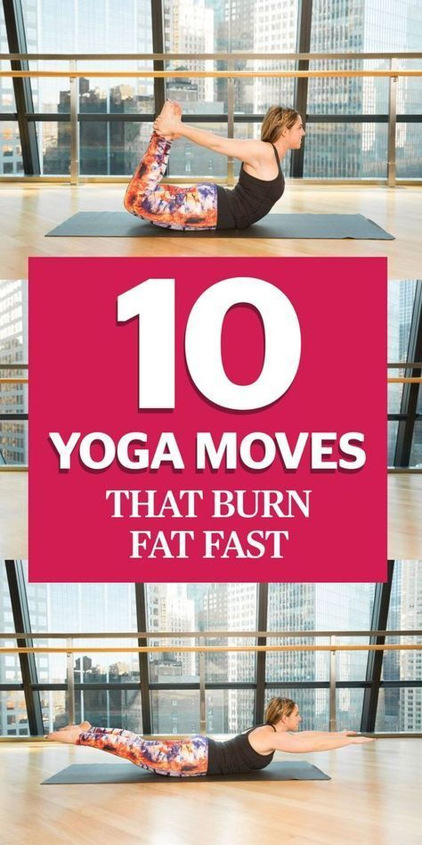 "10 Yoga Moves That Burn Fat Faster Than You Can Say ""Om"""