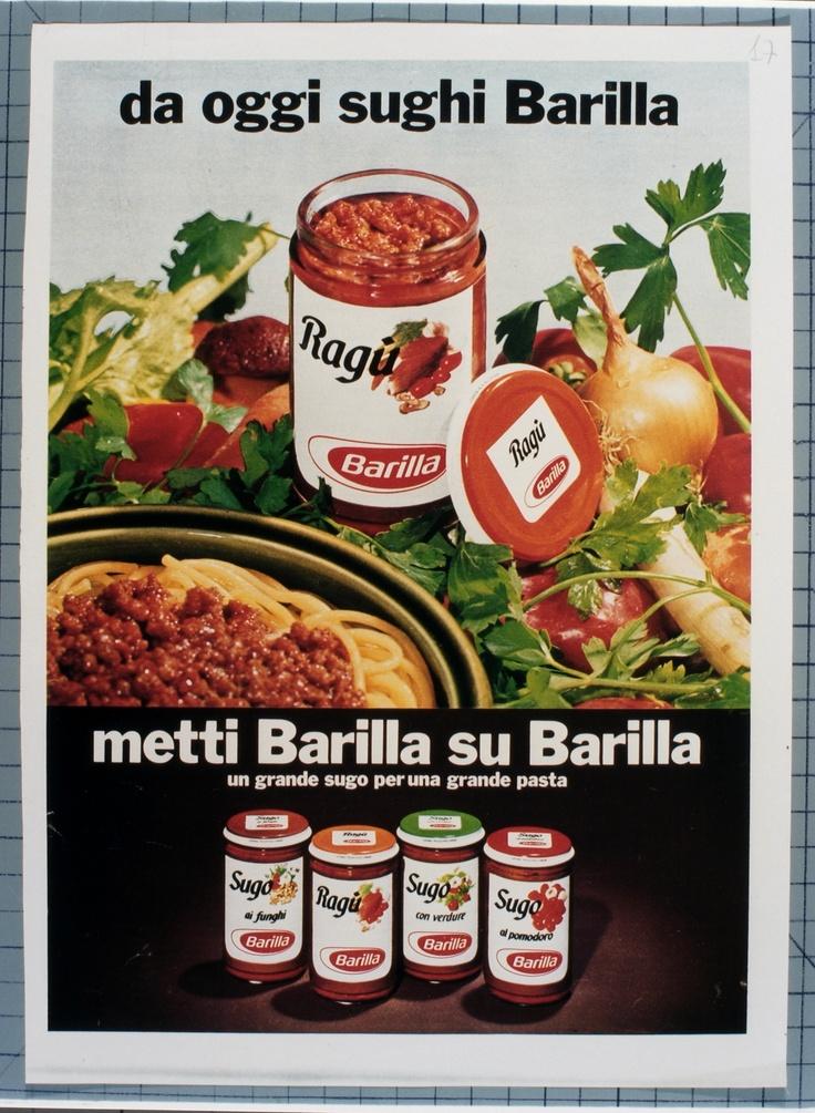Barilla showcases Ragu sauce in 1970