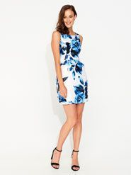 Moody Camelia A-Line Dress The price is $129.95.