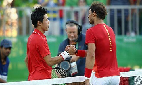 Kei Nishikori Clears the Air on Controversial Break During Rafael Nadal Match in Rio - http://www.tsmplug.com/tennis/kei-nishikori-explains-controversial-12-minute-break-against-rafael-nadal-at-rio-games/