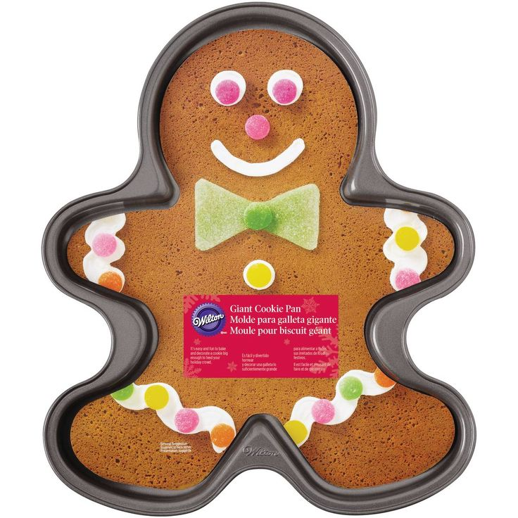 Wilton Non-Stick Giant Gingerbread Man Cookie Pan