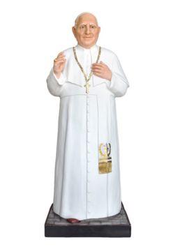 Statua S. Giovanni XXIII cm. 147 altezza cm. 147 in vetroresina dipinto con colori acrilici e finiture ad olio disponibile anche con occhi di vetro  http://www.ovunqueproteggimi.com/collezione-statue/santi/giovanni-xxiii/