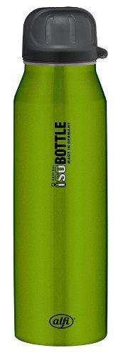 alfi 5337.697.050 Isolier-Trinkflasche isoBottle, 0,5 L, edelstahl, rein grün - http://geschirrkaufen.online/alfi/rein-gruen-alfi-5337-696-050-isolier-trinkflasche