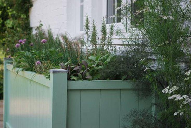 painted garden planter, sarratt range by sandman home and garden | notonthehighstreet.com