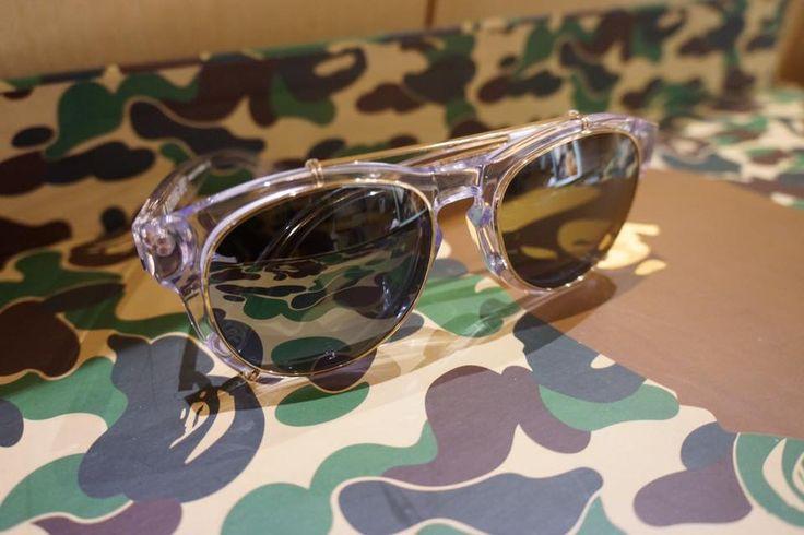 New 2015 Bape Sunglasses in the QVB store. #bape #lifestyleoptical #qvb #bapesunglasses #sunglasses