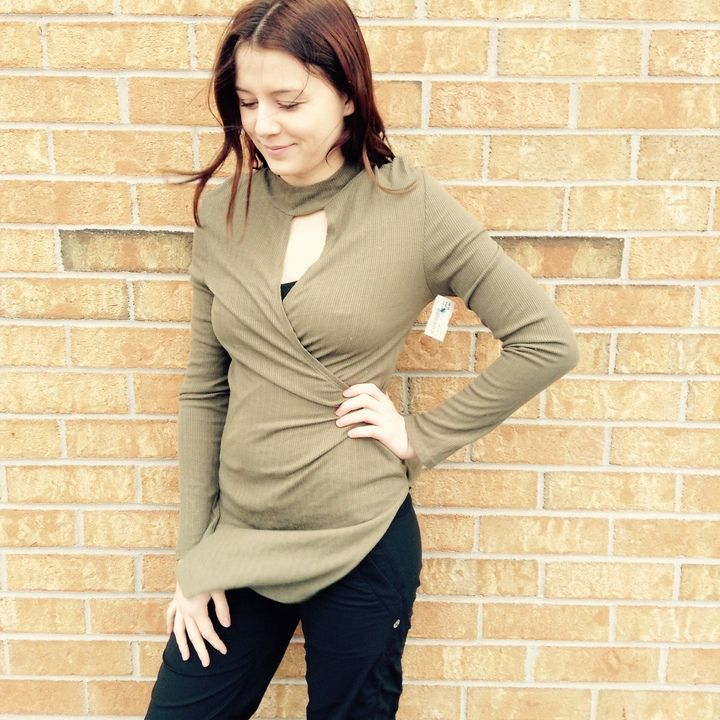 We love the return of soft earthy tones for spring – Even more so when they are part of our #BOGO 50% OFF sale! Today & tomorrow only, when you buy any ladies long-sleeve top, #PlatosClosetNewmarket will give you another for ½ price – Don't miss out! | www.platosclosetnewmarket.com