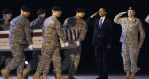 Ataques de la prensa TRIUNFO ... IGNORA Legado Guerra Miserable de Obama: Soldados muerto cuadruplicado en comparación con GW Bush Años ... Soldados Hecho esperar a ser disparados por jihadistas antes de atacar [VIDEO]