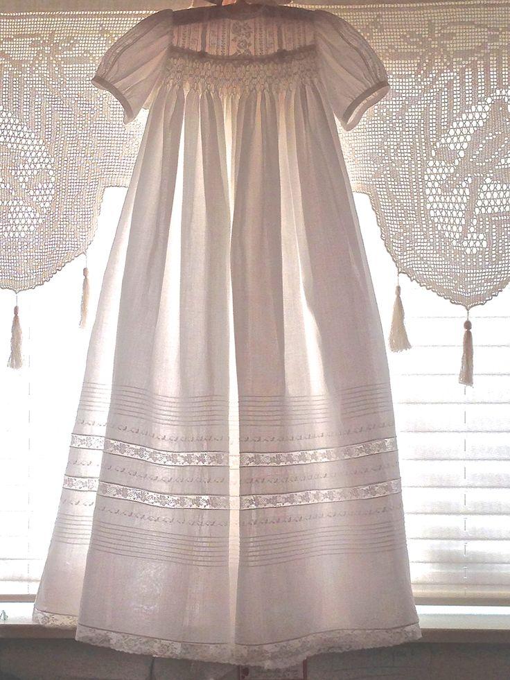 Carolina's christening dress