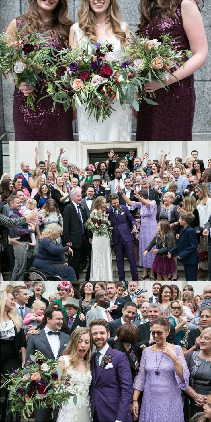 fun wedding photography at islington assembly hall