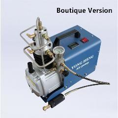 [ $16 OFF ] 300BAR 30MPA 4500PSI High Pressure PCP Air Pump Water Cooling Electrical Mini Air Compressor ( Boutique Version)