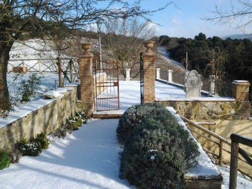 Neve a La Posta di Confine.