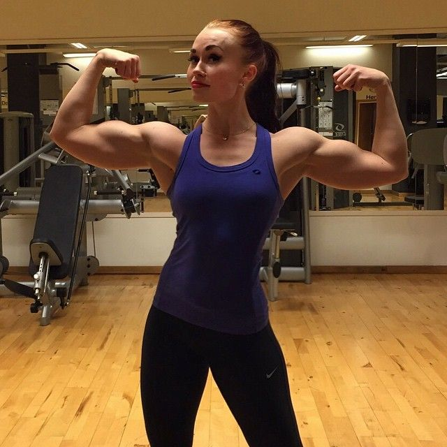 Pin by AMAZONLOVE on Amanda Dabe | Fitness, Biceps, Strong ...