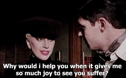 The Countess and James March, AHS Hotel. Lady Gaga & Evan Peters. Follow rickysturn/american-horror-story