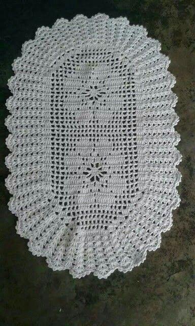 Tapetes em crochets:
