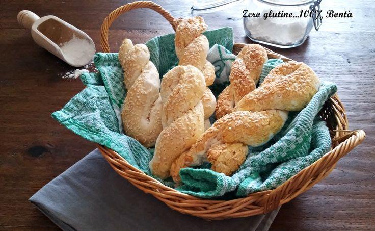 Treccine di pane senza glutine