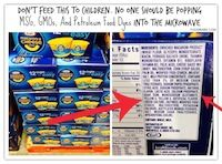 """Just Because This Kraft Food Is """"EASY"""" Doesn't Mean You Should Eat It! MSG, palm oil, artificial colors, natural flavors, sodium tripolyphosphate, sodium phosphate, calcium phosphate, corn syrup, maltodextrin, lactic acid, acetylated monoglycerides, citric acid, whey $ milk protein concentrate, enriched wheat flour."""
