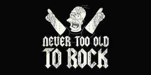 SIMPSONS KYLPYPYYHE NEVER TOO OLD TO ROCK 14,95€