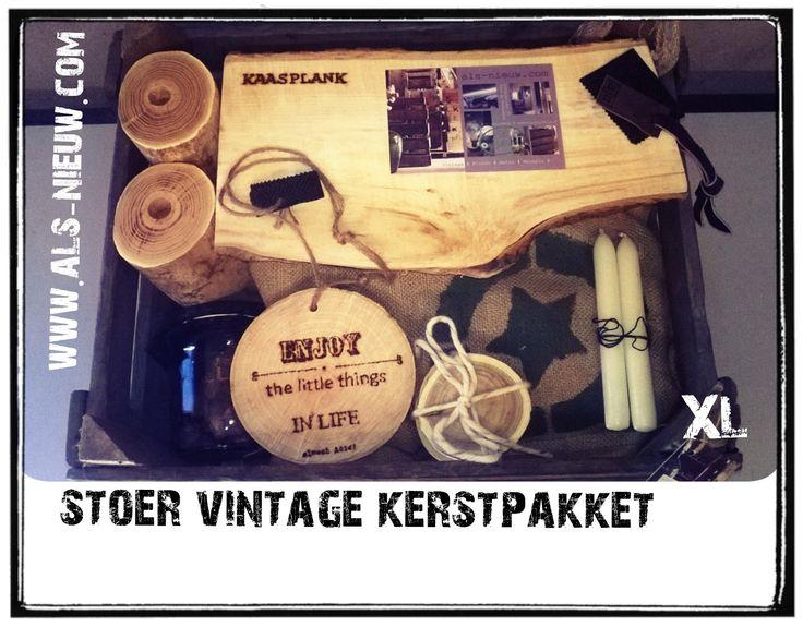Goed gevulde bierkist # stoer # compact # handmade # www.als-nieuw.com #