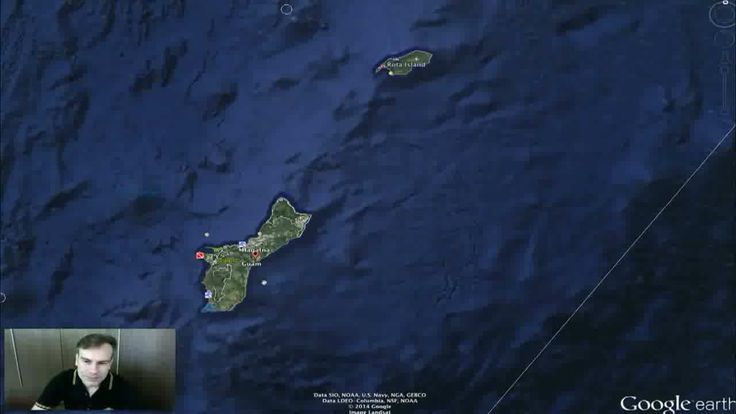 Underwater Alien Base Near Saipan, April 28, 2014, UFO Sighting News. [Video]