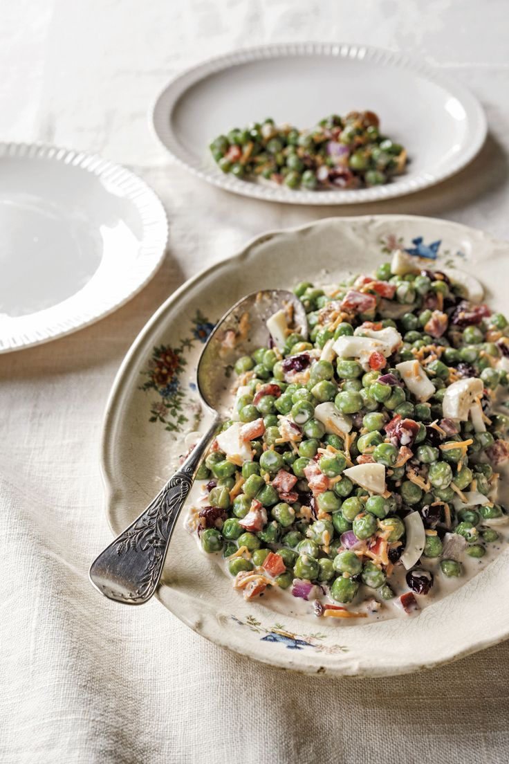 English Pea Salad  - CountryLiving.com